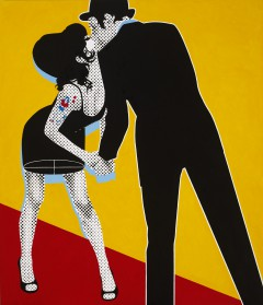THE KISS II (Gerald Laing, 08)