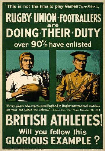 Rugby Football Union Poster