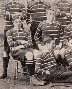 Blair Swannell, seated left