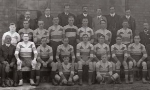 Images courtesy of Gloucester Rugby Archives