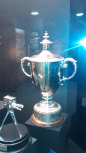 The Russel Cargill Trophy is now on permanent display in the World Rugby Museum