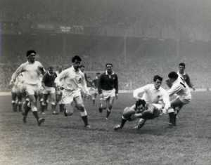 21. Gareth Edwards first international try England v Wales 1968