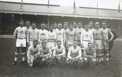 1924 USA Olympic side