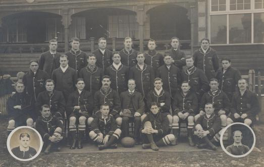 1906 Springboks, featuring Andrew, Douglas and William Morkel