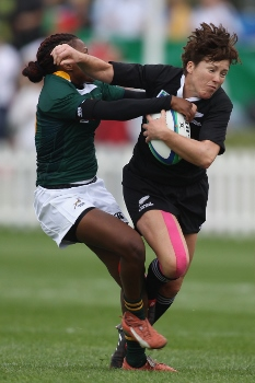 New Zealand v South Africa - IRB Women's Rugby World Cup Matchday One