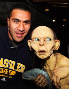 All Blacks Visit The Weta Workshop