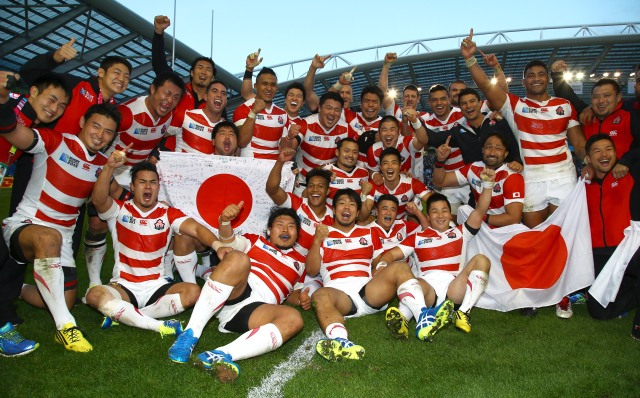 South Africa v Japan - Group B: Rugby World Cup 2015