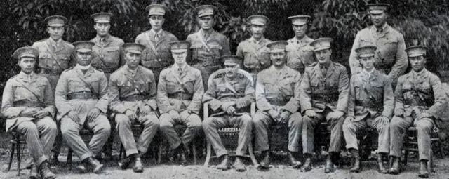 1st Maori Div - Kaipara back row, second from right
