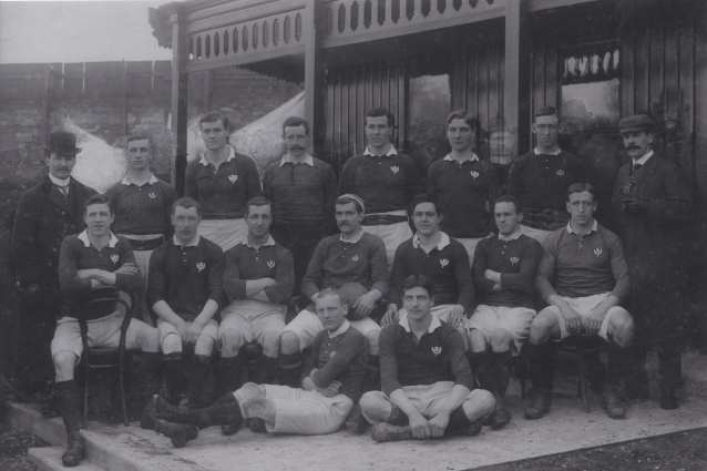 Scotland team v Ireland, 1900