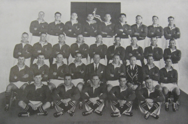 1951 Springboks touring team