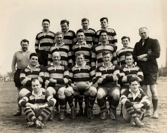 Wasps team with Ted Woodward as captain