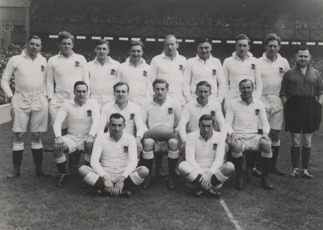 England team v Ireland 1948
