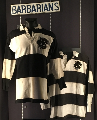 Barbarians display, World Rugby Museum
