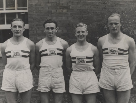 1948 Olympic GB 100 Meter Relay Team