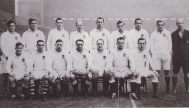 England rugby team 1945