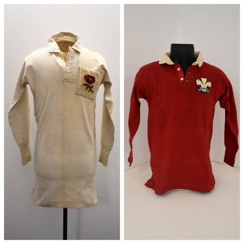 England and Wales jerseys 1910